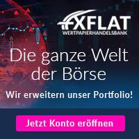 FXFlat Depotkonto - enge Spreads und hohe Hebel wählbar 1
